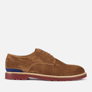 PS Paul Smith Men's Doogie Suede Derby Shoes - Tan