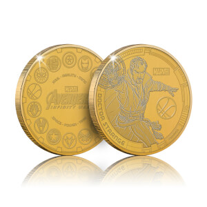 Collectable Marvel Infinity War Commemorative Coin: Doctor Strange - Zavvi Exclusive (Limited to 1000)