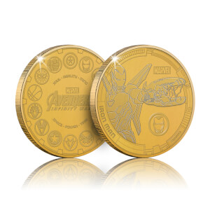 Collectible Marvel Infinity War Commemorative Coin: Iron Man - Zavvi Exclusive (Limited to 1000)