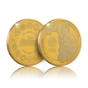 Collectable Marvel Infinity War Commemorative Coin: Captain America - Zavvi Exclusive (Limited to 1000)
