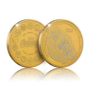 Collectable Marvel Infinity War Commemorative Coin: Thanos - Zavvi Exclusive (Limited to 1000)