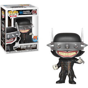 Figura Funko Pop! Exclusivo PX - Batman Que Ríe (Metálico) - DC