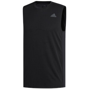 adidas Men's Own the Run Singlet - Black
