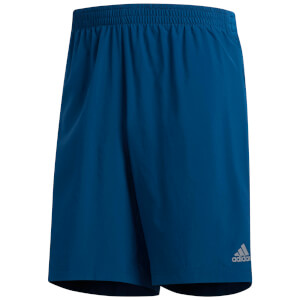 adidas Men's Own the Run 2 in 1 Shorts - Legend Marine