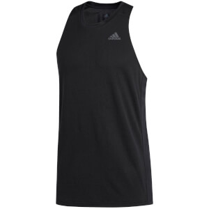 adidas Men's Own the Run Tank Top - Black