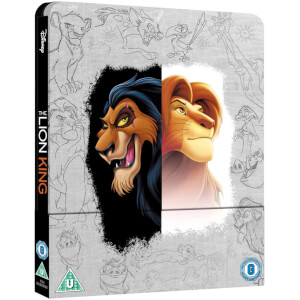 The Lion King Zavvi UK Exclusive (Blu-ray & 4K Ultra HD) Steelbook