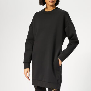 adidas Women's Sport 2 Street Tunic Sweatshirt Dress - Black
