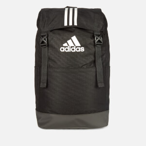 adidas 3 Stripe Backpack - Black