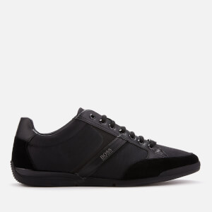 BOSS Men's Saturn Low Profile Trainers - Black