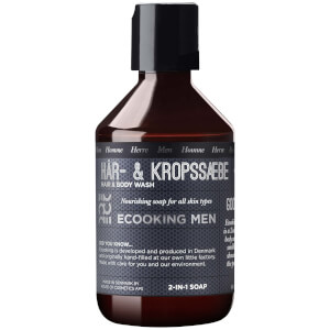 Ecooking Men Hair & Body Wash 250 ml