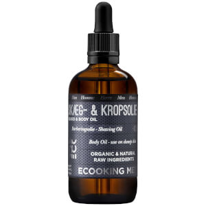 Ecooking Men Beard & Body Oil 100ml