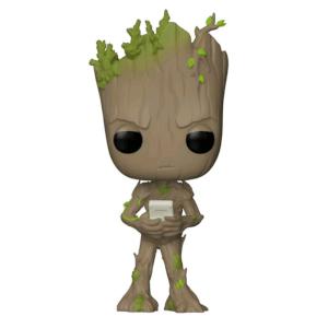 Figurine Pop Groot avec jeu EXC Marvel