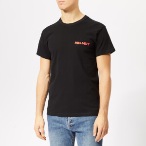 Helmut Lang Men's We Trust Little T-Shirt with Print - Black