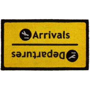 Premier Housewares Arrival Departure Doormat