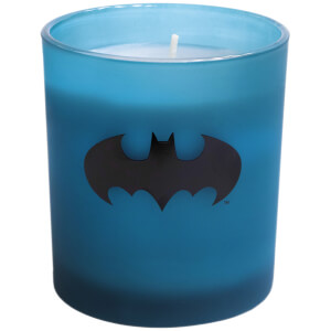 Batman Large Glass Candle