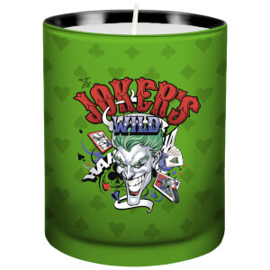DC Comics Glass Candle - The Joker