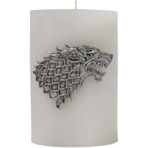 Game of Thrones Sculpted Insignia Candle - Stark
