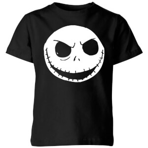 The Nightmare Before Christmas Jack Skellington Kids' T-Shirt - Black