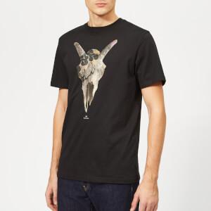 PS Paul Smith Men's Regular Fit Skull T-Shirt - Black
