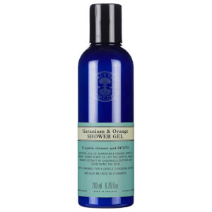 Gel Douche à l'Orange et au Géranium Neal's Yard Remedies 200 ml