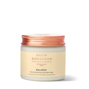 Mascarilla de noche realzadora del brillo Grow Gorgeous Balance 200 ml