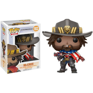 Figura Funko Pop! - USA McCree EXC - Overwatch