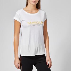 Barbour International Women's Court T-Shirt - White