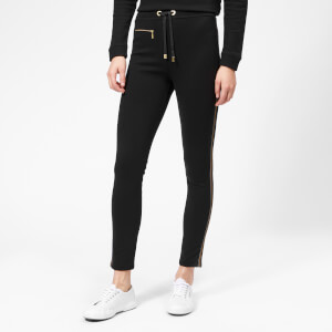 Barbour International Women's Track Trousers - Black/Gold