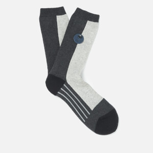 Folk Men's Block Socks - Black