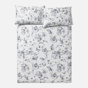 in homeware Sophie Floral Duvet Set - Nude