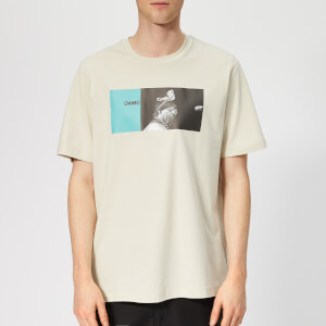 OAMC Men's Sun Ra T-Shirt - Light Pastel Green