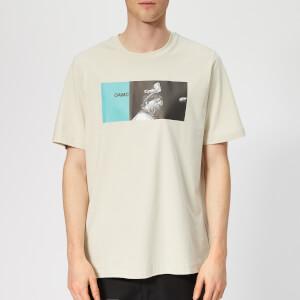 OAMC Men's Sun Ra T-Shirt - Light Pastel Green
