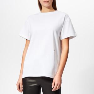 Helmut Lang Women's HL Logo T-Shirt Military - White