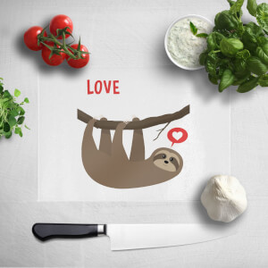 Sloth Love Chopping Board
