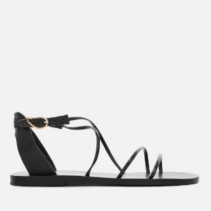 8b873077333e Ancient Greek Sandals Women s Meloivia Leather Strappy Sandals - Black
