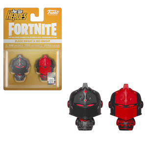 Funko Fortnite Minihelden Black Knight und Red Knight 2-Pack