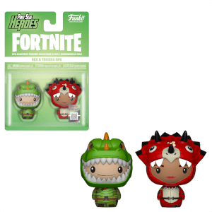Funko Fortnite Pint Size Heroes Rex and Tricera Ops 2-Pack