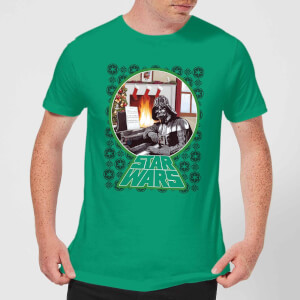Star Wars A Very Merry Sithmas Men's Christmas T-Shirt - Kelly Green