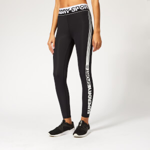 Superdry Sport Women's Core 7/8 Leggings - Black