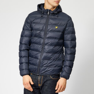 Lyle & Scott Men's Lightweight Puffer Jacket - Dark Navy