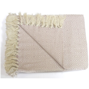 Rapport Rona Throw - Blush