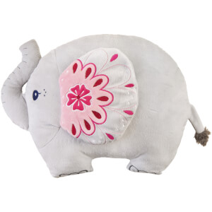 Sass & Belle Mandala Elephant Cushion