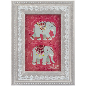 Sass & Belle Mandala Elephant Henna Pattern Photo Frame