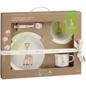 Sophie la Girafe So Pure Bamboo Natural Meal Set