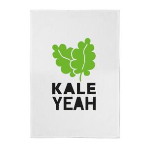 Kale Yeah Cotton Tea Towel