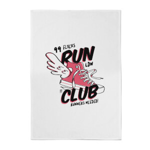 Run Club Cotton Tea Towel