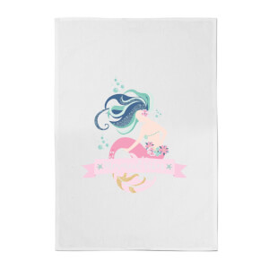 Mermaid Vibes Cotton Tea Towel
