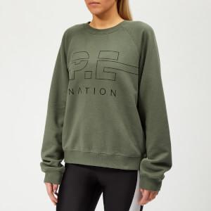 P.E Nation Women's Swingman Sweatshirt - Khaki