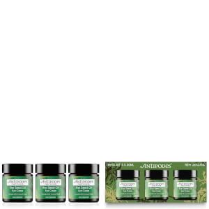 Antipodes Exclusive Triple Pack - Kiwi Seed Oil Eye Cream (3 x 30ml) (Worth £95.97): Image 2