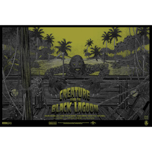 Creature From the Black Lagoon 24 x 36 Inches Screenprint by Germain Mainger - Zavvi Exclusive (Limited to 125 Worldwide)
